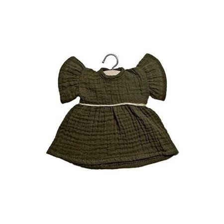 Minikane® Majica za lutke Daisy Kaki 32cm
