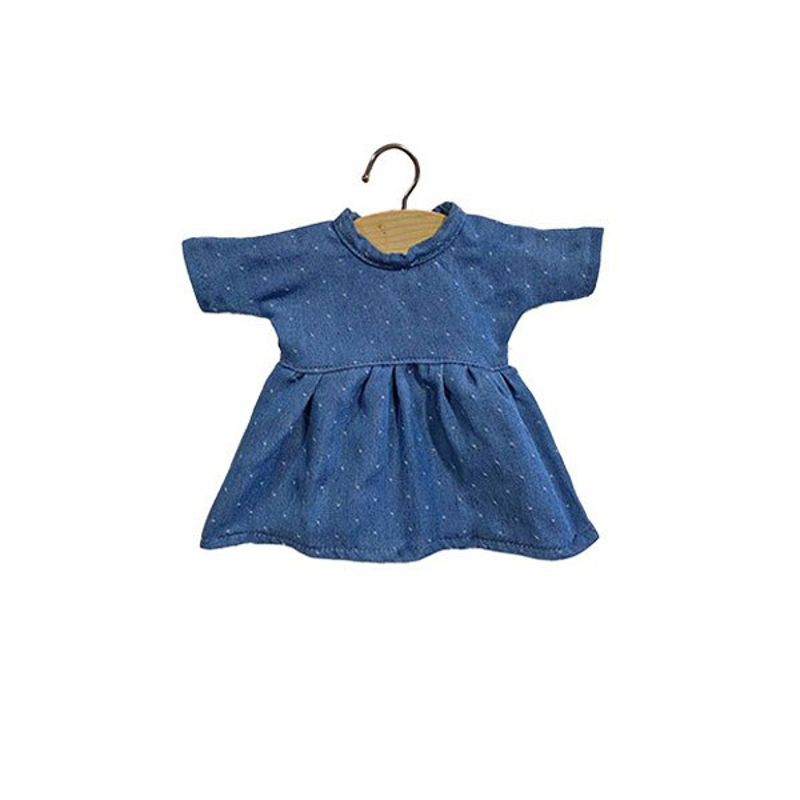 Slika za Minikane® Majica za lutke Faustine Denim 32cm