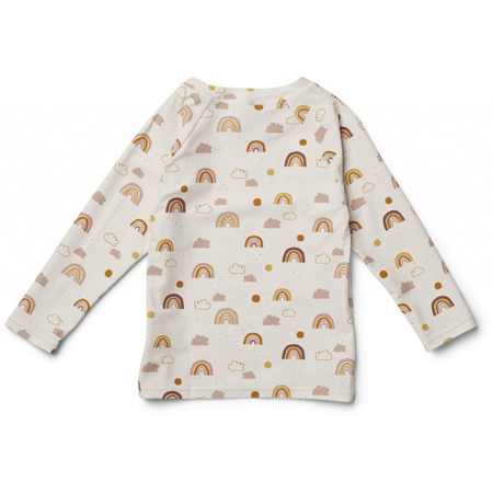 Liewood® Majica sa UV zaštitom Noah Rainbow Love Sandy
