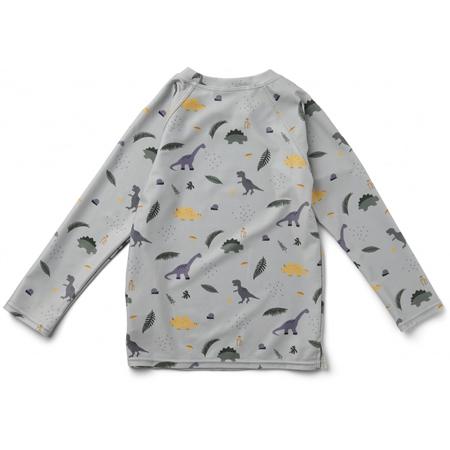 Liewood® Majica sa UV zaštitom Noah Dino Dove Blue Mix