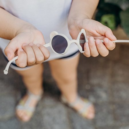 KiETLA® Dječje naočale za sunce Light Pink 2-4 G