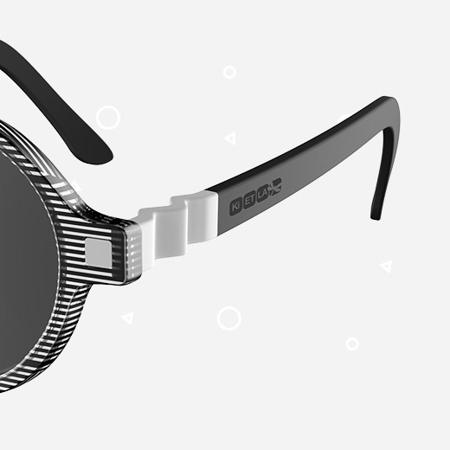 Slika za KiETLA® Dječje naočale za sunce Antik Pink Stripe 6-9G