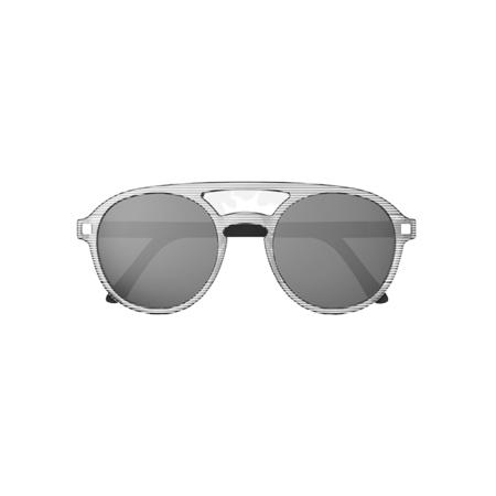 Slika za KiETLA® Dječje naočale za sunce Stripe Pizz 6-9 G