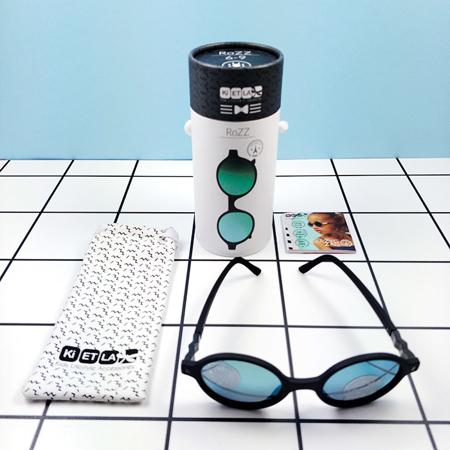 Slika za KiETLA® Dječje naočale za sunce Black Buzz 6-9 G