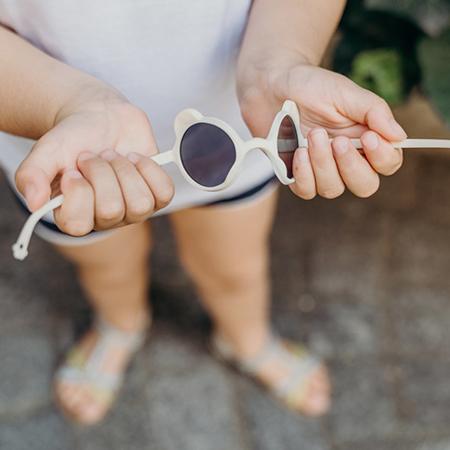 KiETLA® Dječje naočale za sunce White  0-1 G
