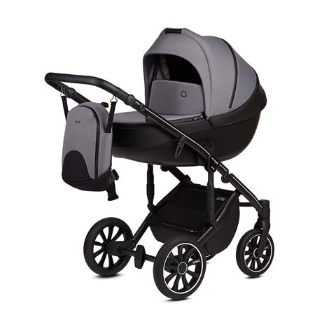 Slika za Anex® Dječja kolica s košarom i ruksakom 2u1 M/Type (0-22kg) Iron
