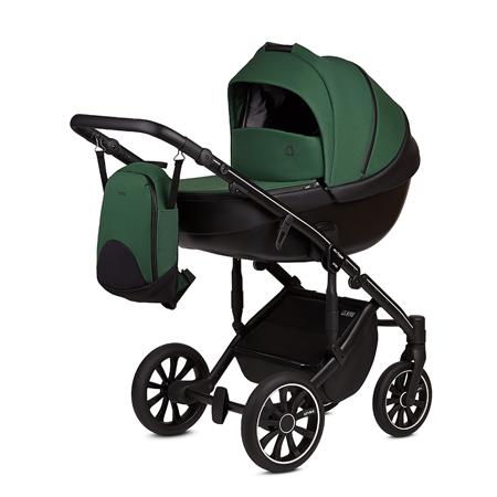 Slika za Anex® Dječja kolica s košarom i ruksakom 2u1 M/Type (0-22kg) Lime
