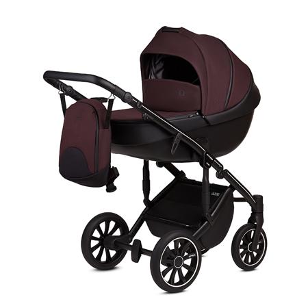 Slika za Anex® Dječja kolica s košarom i ruksakom 2 u 1 M/Type (0-22kg) Grape