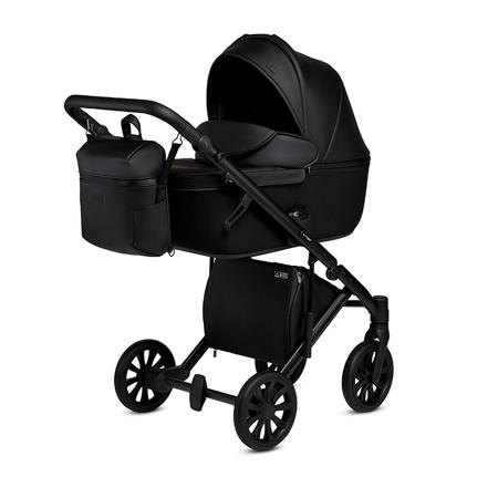 Slika za Anex® Dječja kolica s košarom i ruksakom 2u1 E/Type (0-22kg) Noir