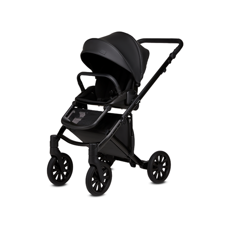 Anex® Dječja kolica s košarom i ruksakom 2u1 E/Type (0-22kg) Noir