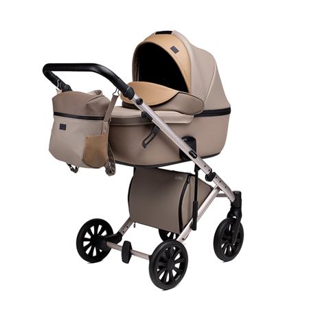 Slika za Anex® Dječja kolica s košarom i ruksakom 2u1 E/Type (0-22kg) Truffle
