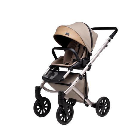Anex® Dječja kolica s košarom i ruksakom 2u1 E/Type (0-22kg) Truffle