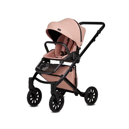Anex® Dječja kolica s košarom i ruksakom 2u1 E/Type (0-22kg) Peach