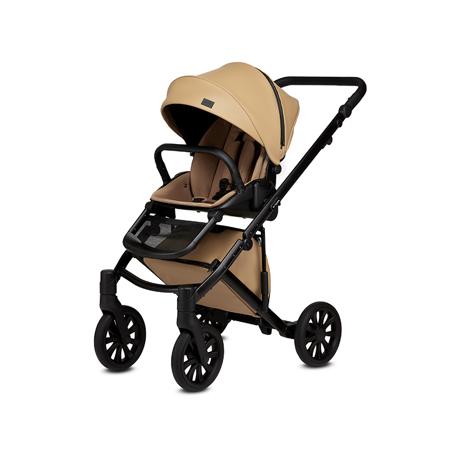 Anex® Dječja kolica s košarom i ruksakom 2u1 E/Type (0-22kg) Caramel
