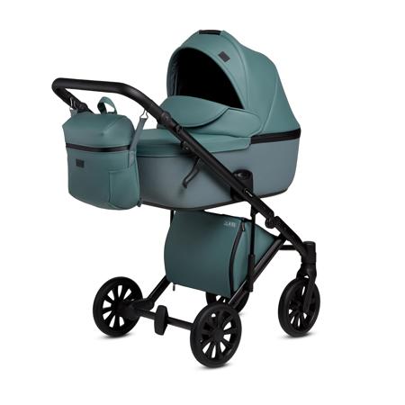 Slika za Anex® Dječja kolica s košarom i ruksakom 2u1 E/Type (0-22kg) Aqua