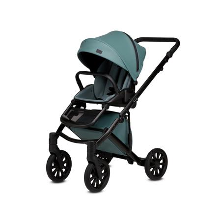 Anex® Dječja kolica s košarom i ruksakom 2u1 E/Type (0-22kg) Aqua