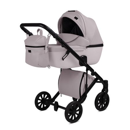 Slika za Anex® Dječja kolica s košarom i ruksakom 2u1 E/Type (0-22kg) Pearl