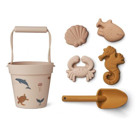 Slika za Liewood® Set s kanticom Sea Creature Rose Multi Mix
