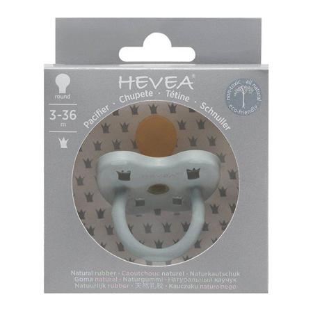 Slika za Hevea® Ortodontska duda od kaučuka Colourful (3-36m) Gorgeous Grey