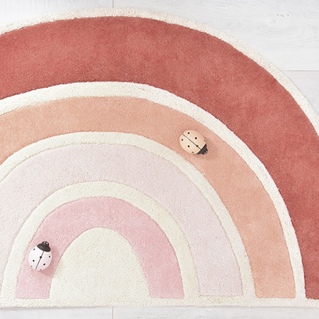 Lilipinso® Dječji tepih Rainbow Orange 120x70