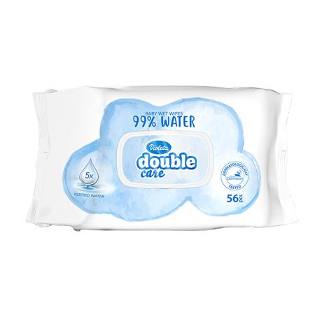 Violeta® Dječje vlažne maramice Water Care 56/1