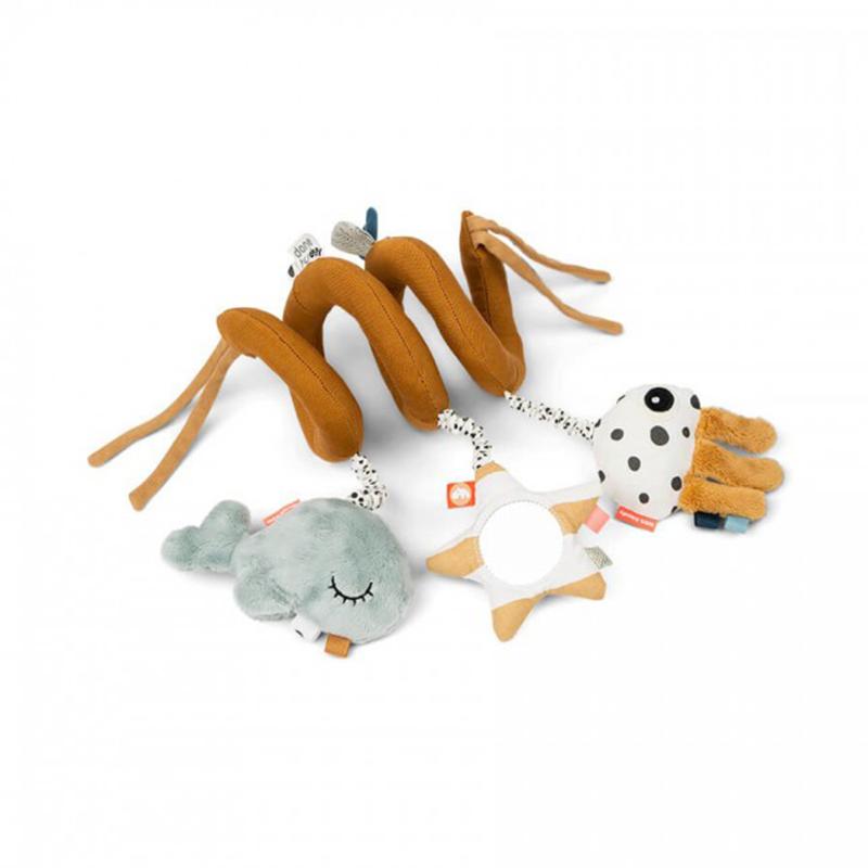 Slika za Done by Deer® Igračka za kolica Sea friends Mustard
