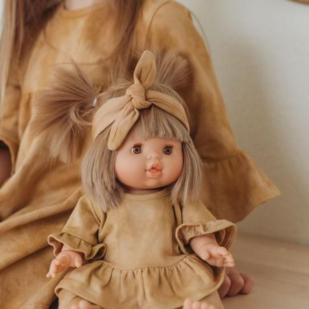 Minikane® Komplet Duo Collection DAISY Marsala