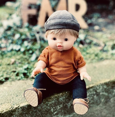 Minikane® Lutka Achille 34cm