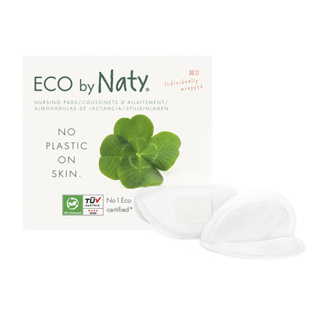 Eco by Naty® Jastučići za dojenje 30 komada