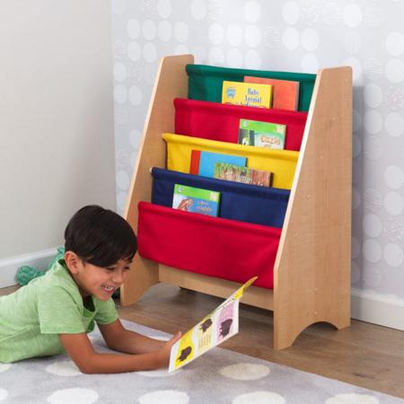 KidKraft® Dječja polica za knjige Primary/Natural