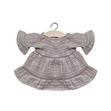 Slika za Minikane® Majica za lutke Lucia Lurex Beige 34cm