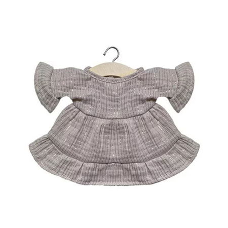 Minikane® Majica za lutke Lucia Lurex Beige 34cm