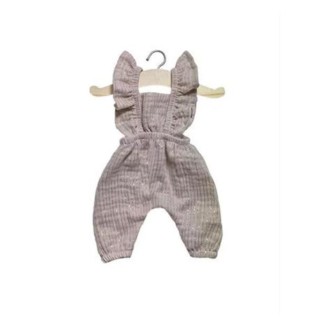 Slika za Minikane® Kombinezon za lutke Maya Lurex Beige 34cm