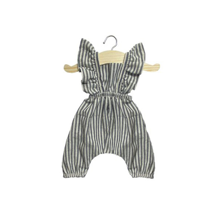Slika za Minikane® Kombinezon za lutke Maya Stripe 34cm