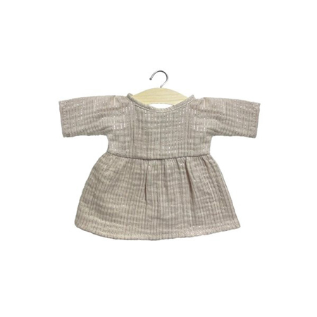 Slika za Minikane® Majica za lutke Faustine Lurex Beige 32cm