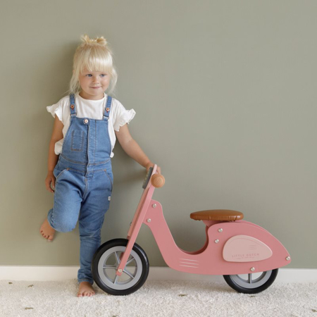 Slika za  Little Dutch®  Dječja guralica Scooter Pink