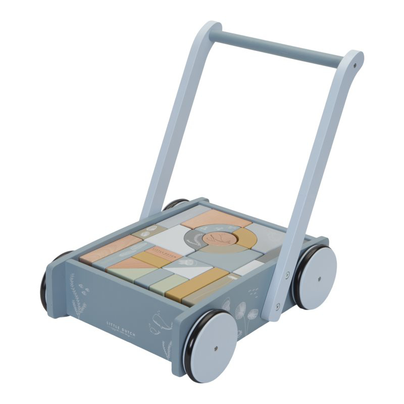 Slika za Little Dutch® Drvena kolica sa kockicam Ocean