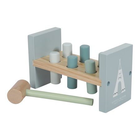 Slika za Little Dutch® Drvena igračka sa čekićem Ocean