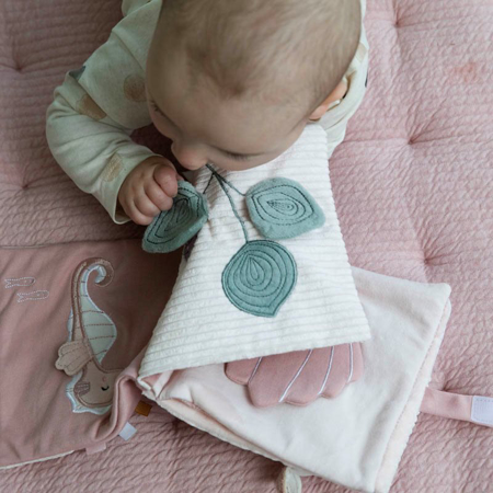 Little Dutch® Didaktička knjiga Kit Ocean Pink