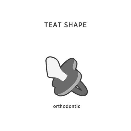 Slika za Hevea® Ortodontska duda od kaučuka PATKA (0-3m) Mellow Mint