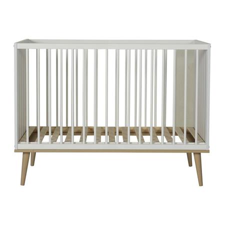 Slika za Quax® Dječji krevetić Flow 120x60 White & Oak