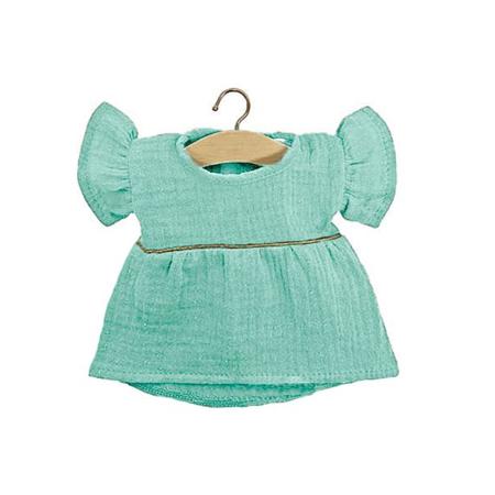 Minikane® Majica za lutke Daisy Green Water Gold 34cm