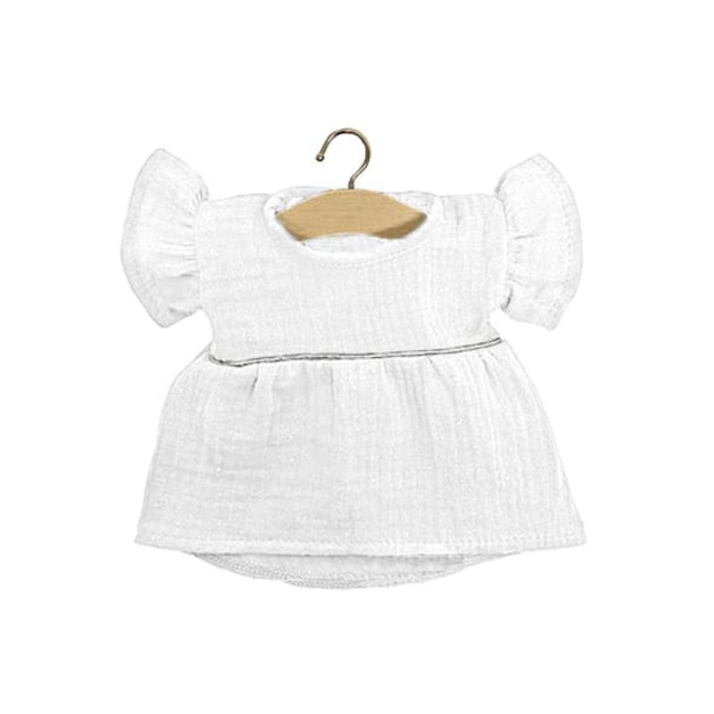 Slika za Minikane® Majica za lutke Daisy White Silver 34cm