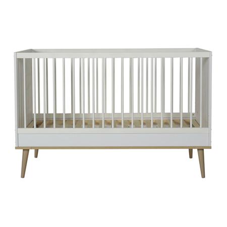Slika za Quax® Dječji krevetić Flow 140x70 White & Oak