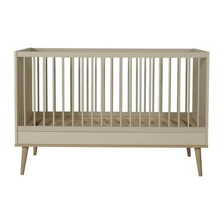 Slika za Quax® Dječji krevetić Flow 140x70 Clay & Oak