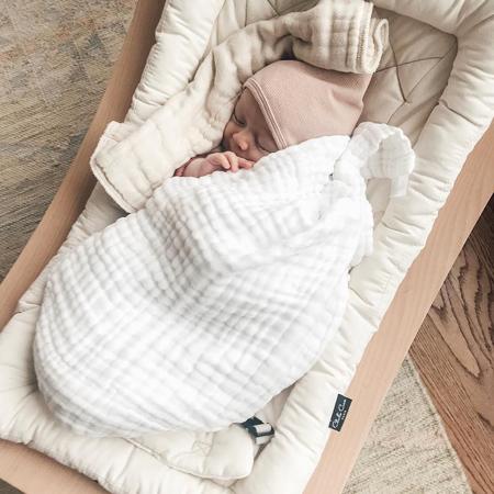 Slika za Charlie Crane® Ležaljka i gegaljka za mališane LEVO Beech Organic Cotton