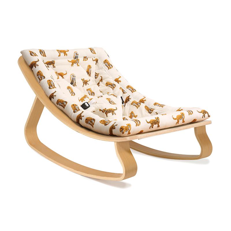 Slika za Charlie Crane® Ležaljka i gegaljka za mališane LEVO Beech Jaguar
