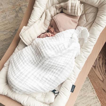 Slika za Charlie Crane® Ležaljka i gegaljka za mališane LEVO Beech Hibiscus