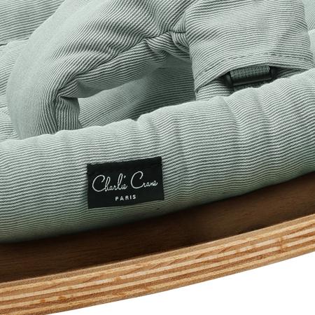 Slika za : Charlie Crane® Ležaljka i gegaljka za mališane LEVO  Walnut Aruba Blue