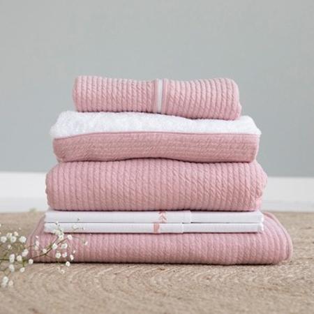 Slika za Little Dutch®  Dječja elastična plahta  Pure Pink 60x120